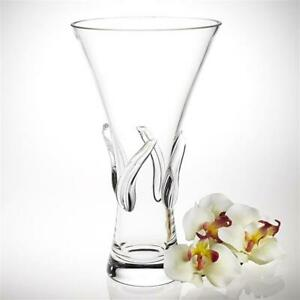Monterrey Mouth Blown 12 Inch Crystal Vase | Crystal Collection