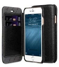 "Melkco Premium Leather Case for Apple iPhone 8 (4.7"") - Face Book BLACK H120"