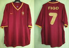 7e1db5f603f68 Maillot Portugal Figo  7 Football Shirt Vintage Nike Jersey 2000 - XL