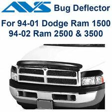 AVS 45551 Bugflector Deluxe Bug Deflector Hood Shield 3PC 1994-2002 Dodge Ram
