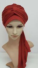 Turban, volume turban snood, chemo head wear, turban with long ties, tichel