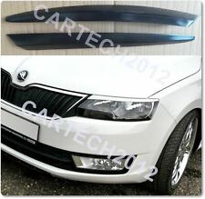 SKODA OCTAVIA MK3 Headlight Eyebrows ABS PLASTIC, TUNING