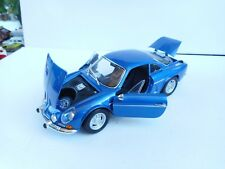1.18 MAISTO ALPINE RENAULT 1600S BLUE 1971 GREAT LOOKING MODEL OHNE BOX
