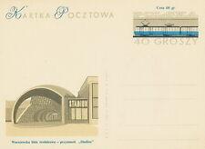 Poland Prepaid Postcard (Cp 236 I) railway station