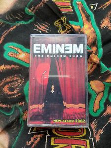 Eminem The Eminem Show Audiocassette 90s rap hip hop