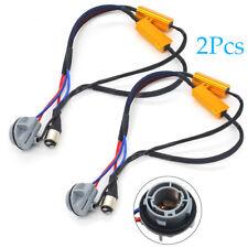 2x 1157 Load Resistor Fix LED Bulb Hyper Flash Error Turn Signal Light canceller