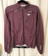 Sugoi Women's Jacket Cycling Training Active Workout Purple Size: Small EUC
