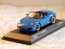 MINICHAMPS PORSCHE 911 SPEEDSTER (997 II) 2010 BLUE ART.400069530 NEW DIE-CAST
