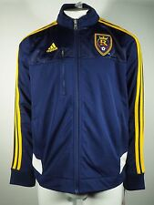 Real Salt Lake Official Genuine MLS Youth lightweight warmup jacket Adidas New