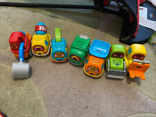 Vtech toot toot cars bundle X 7 - Great Condition With Batteries Construction