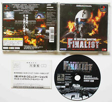 3D MISSION SHOOTING FINALIST sur Sony PLAYSTATION 1 PS1 Japan