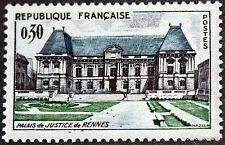 1962  FRANCE RENNES TIMBRE  Y & T N° 1351   Neuf  Luxe **