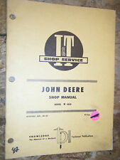 Up To 1971 John Deere Series 4520 Tractor I & T Shop Manual Service