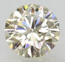 Certified 0.96 Carat J VVS2 Round Brilliant Enhanced Natural Loose Diamond 6.45m