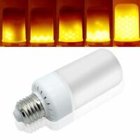 E27 E14 B22 LED 6.5W Flicker Flame Fire Effect Light Bulb Warm White Decor Lamp