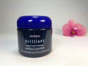 Aveda Brilliant Humectant Pomade 2.6oz/75ml Brand New