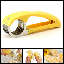 Banana Gherkins Slicer Cutter Chopper Cucumber Bananza New Kitchen Tool Splitter