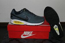 NIKE AIR MAX COLISEUM HOMME COURSE chaussure grise noir jaune cuir taille 41