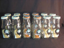 12 Starbucks Frappuccino Vase Shaped 9.5 oz Bottles w/ Tops for Crafts