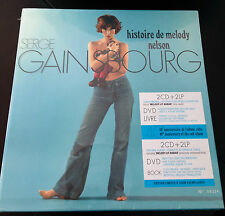 SERGE GAINSBOURG HISTOIRE DE MELODY NELSON (JANE BIRKIN)2 LP 2 CD 1 DVD 1 BOOK