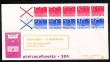FDC met postzegelboekje PB 28, Philato, blanco/open