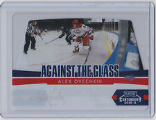 2010-11 PLAYOFF CONTENDERS ALEX OVECHKIN AGAINST THE GLASS #1 CAPITALS