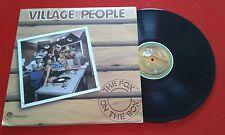 VILLAGE PEOPLE ** The Fox On The Box ** RARE COVER & LABEL 1982 LP Venezuela