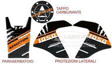 KIT DE PEGATINAS GEL 3D PROTECCIONES DEPÓSITO compatible para MOTO KTM 1050