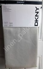 NEW DKNY Beige UPTOWN LOFT Window Curtain Panels 50x96 PAIR Room Darkening