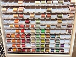 SULKY BLENDABLES 12 WEIGHT-100% COTTON MERCERIZED-330 YARDS-VARIOUS COLORS