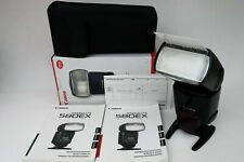 Canon Speedlite 580EX Shoe Mount Flashgun boxed with stand pouch & instructions