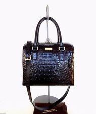 KATE SPADE CrocEmboss Leather Rialto Alessa Bag+Det.Adj Strap  DustBag NWT $458