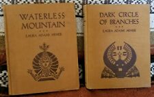 """2 BOOKS BY LAURA ADAMS ARMER, """"DARK CIRCLES OF BRANCHES"""", """"WATERLESS MOUNTAIN"""""""
