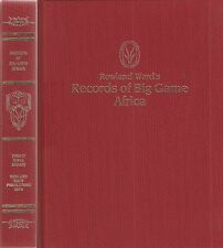 WARD HUNTING BOOK ROWLAND WARDS RECORDS OF BIG GAME XXIX 29th EDITION 2014 new