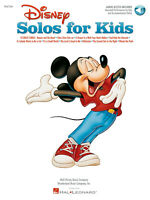 Disney Solos for Kids  Vocal and Piano  Book with Audio-Online HL00740197