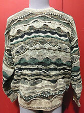 Vintage Maglificio Florence Knit Sweater Italy Wool Acrylic Nylon Sz Large L