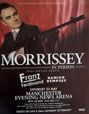 MORRISSEY 2004 Advert CONCERT MANCHESTER you are the quarry
