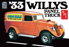 "AMT 1/25 1933 '33 Willys Panel truck Plastic Model Kit #879 ""Bread Baron"""