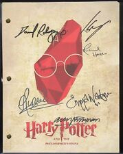 "HARRY POTTER and the Philosopher's Stone W/ reproduction signatures  ""C3"""