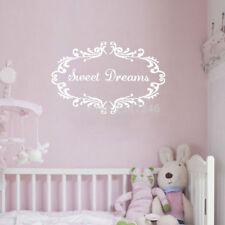 Sweet Dreams Wall Sticker Decal   Good Night Sleep Baby Nursery Bedroom Decor