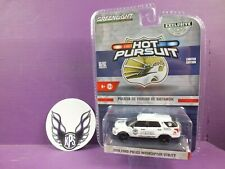 Greenlight Hobby Exclusive 2016 Ford Police Interceptor Utility Hot Pursuit