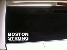 "Boston Strong vinyl window sticker decal 6"" *C13* marathon memorial pride city"