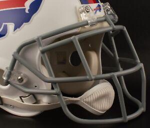 LeSEAN McCOY BUFFALO BILLS Schutt EGOP Football Helmet FACEMASK NFL - GRAY
