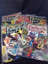 Fantastic Four Lot of 5 Comics #226 227 228 229 230 Marvel Comics Vintage 1980s