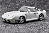 Welly 1:24 Porsche 959 White Diecast Model Sports Racing Car New in Box
