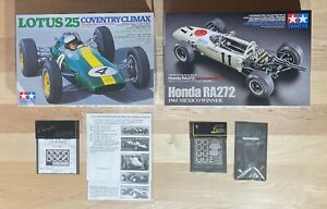 Tamiya 1/20 20044 Lotus 25 Coventry Climax 20043 Honda RA272 Model Car Kit