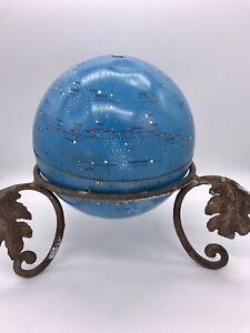 VTG 1970's Mid Century Zodiac Signs Atomic Celestial Globe Constellations