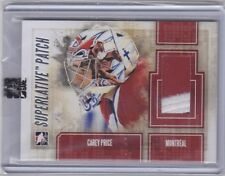 Carey Price 12/13 ITG Superlative Volume 3 Game Used Patch /19