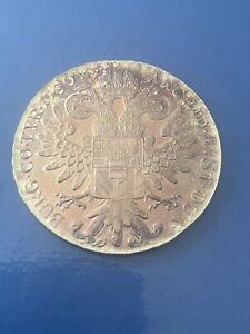 Maria Theresa Thaler Silver Coin. 28g ,1780 Austria  ~ Restrike