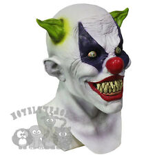 Latex Halloween 'Franco The Silly Grin Clown' Costumes Props Scary Horror Mask